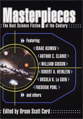Masterpieces The Best Science Fiction of the Century  2001 edition cover