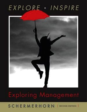 Exploring Management  2nd 2010 9780470169643 Front Cover
