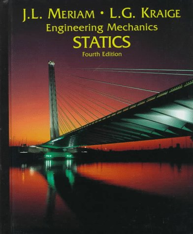 Engineering Mechanics, Statics  4th 1996 9780471597643 Front Cover