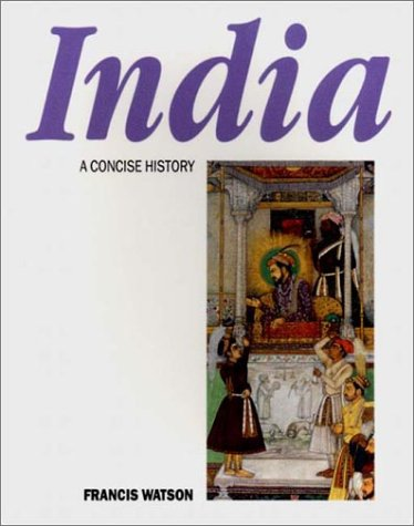 India a Concise History   1974 9780500271643 Front Cover
