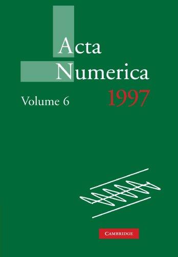 Acta Numerica 1997: Volume 6   2010 9780521157643 Front Cover