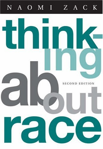 Thinking about Race  2nd 2006 (Revised) edition cover