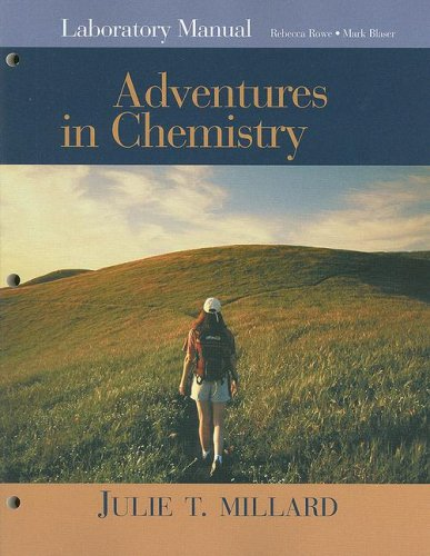 Adventures in Chemistry   2008 (Lab Manual) edition cover