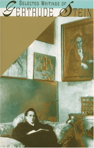 Selected Writings of Gertrude Stein  N/A edition cover