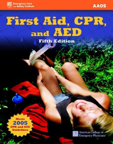 First Aid, CPR, and AED 5th 2007 edition cover