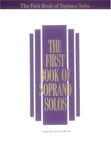 First Book of Soprano Solos  N/A edition cover
