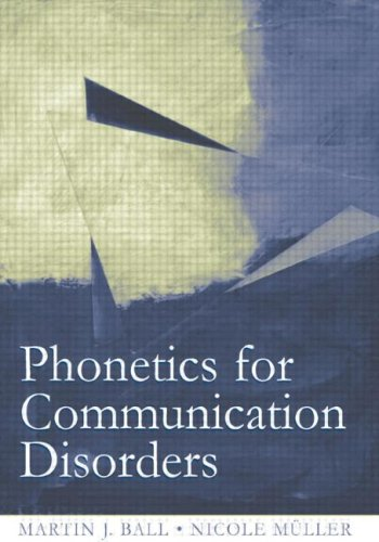 Phonetics for Communication Disorders   2005 edition cover