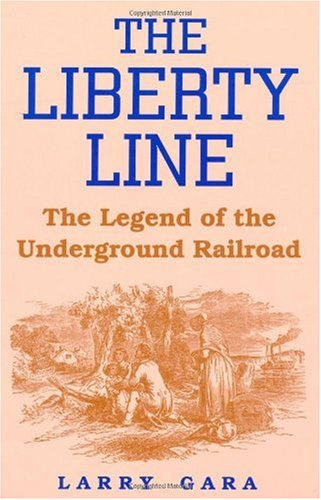Liberty Line The Legend of the Underground Railroad  1996 edition cover