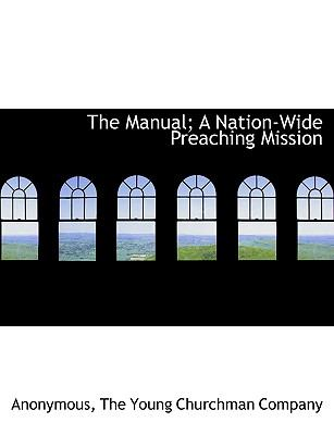 Manual; a Nation-Wide Preaching Mission N/A edition cover