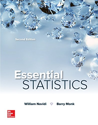 Essential Statistics  2nd 2018 9781259570643 Front Cover