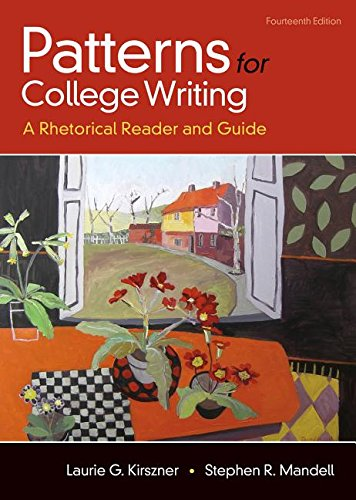 Patterns for College Writing: A Rhetorical Reader and Guide 14th 2017 9781319056643 Front Cover