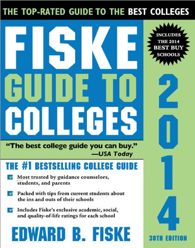 Fiske Guide to Colleges 2014  30th (Revised) edition cover