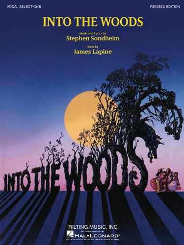 Into the Woods Edition Vocal Selections N/A edition cover