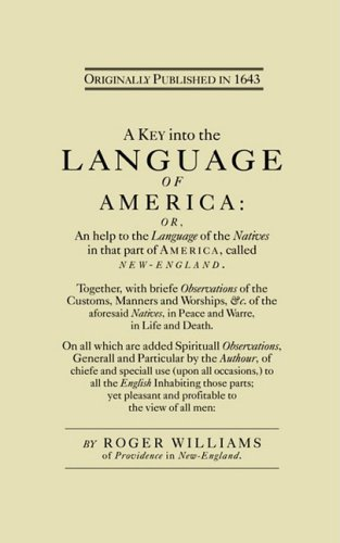 Key into the Language of America  Reprint  9781557094643 Front Cover