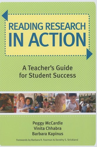 Reading Research in Action A Teacher's Guide for Student Success  2008 9781557669643 Front Cover