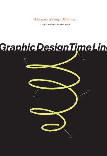 Graphic Design Time Line A Century of Design Milestones  2000 edition cover