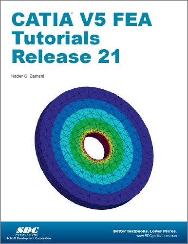 CATIA V5 FEA Tutorials Release 21  N/A edition cover