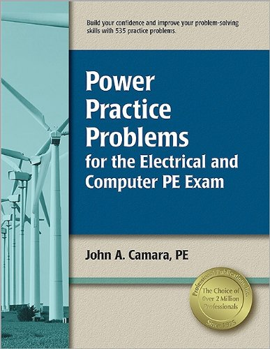 Power Practice Problems for the Electrical and Computer PE Exam  N/A edition cover