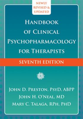 Handbook of Clinical Psychopharmacology for Therapists  7th 2013 9781608826643 Front Cover