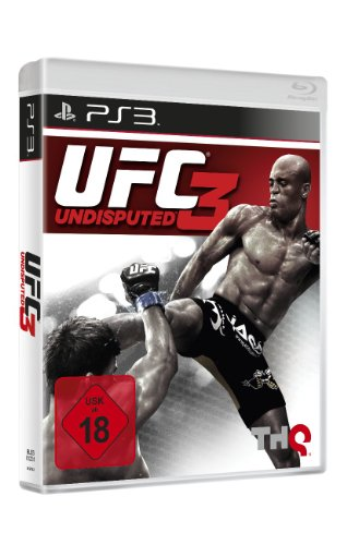 UFC 3 PlayStation 3 artwork