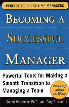Becoming a Successful Manager  2nd 2010 edition cover