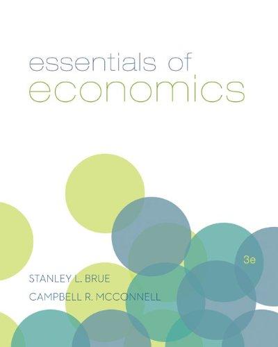 Essentials of Economics  3rd 2014 edition cover