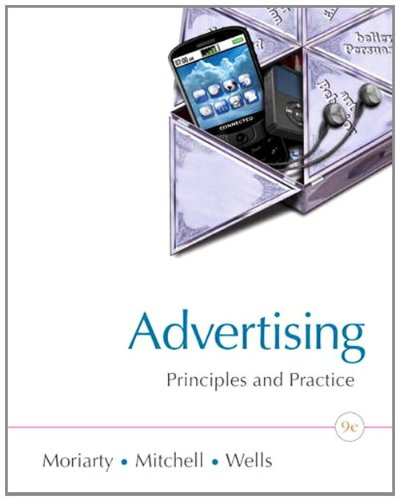 Advertising and IMC Principles and Practice 9th 2012 edition cover