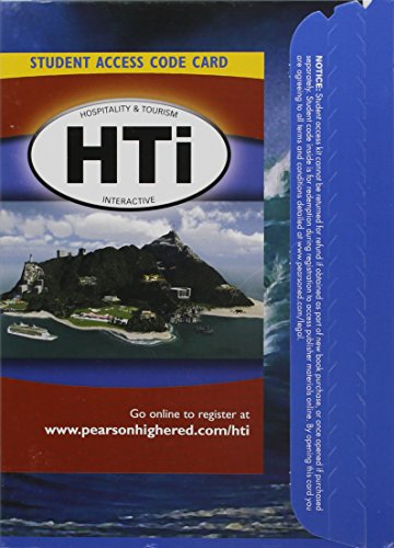 Hospitality and Tourism Interactive (HTi)   2011 edition cover