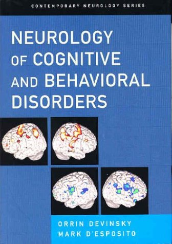 Neurology of Cognitive and Behavioral Disorders   2003 9780195137644 Front Cover