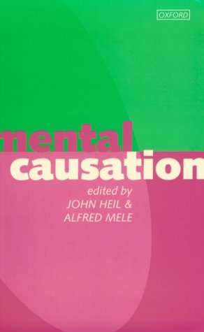 Mental Causation  N/A edition cover