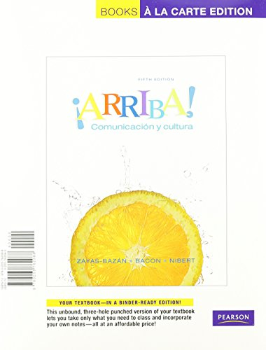 ARRIBA!  (LOOSELEAF)-W/ACCESS N/A 9780205775644 Front Cover