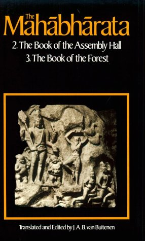 Mahabharata The Book of Assembly - The Book of the Forest  1975 edition cover