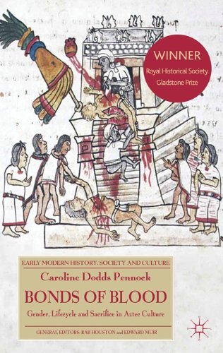 Bonds of Blood Gender, Lifecycle, and Sacrifice in Aztec Culture  2011 edition cover