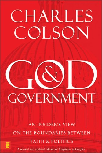 God and Government An Insider's View on the Boundaries Between Faith and Politics  2007 (Revised) 9780310277644 Front Cover