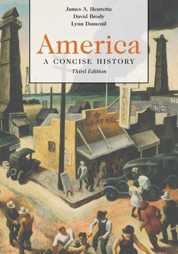 America A Concise History 3rd 2006 9780312413644 Front Cover