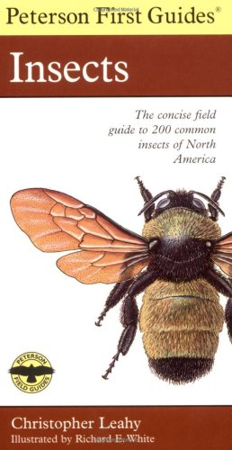 Peterson First Guide to Insects of North America  2nd 1998 edition cover