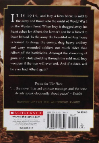 War Horse  N/A edition cover