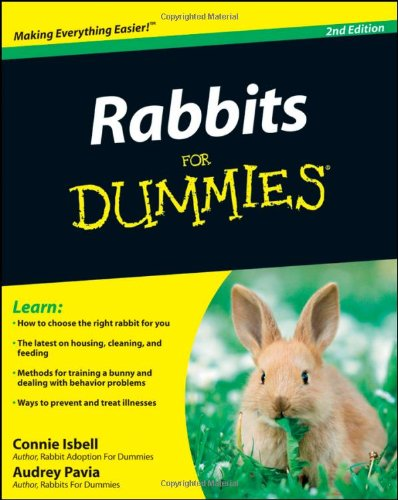 Rabbits for Dummies�  2nd 2009 edition cover