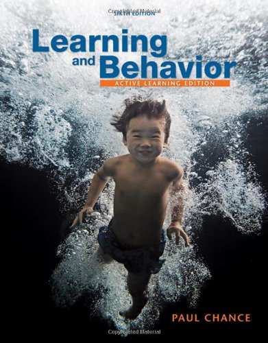 Learning and Behavior Active Learning Edition 6th 2009 (Revised) edition cover