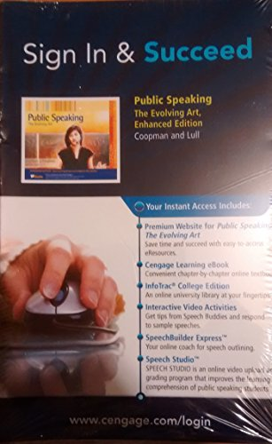 PUBLIC SPEAKING-ACCESS CARD N/A 9780495798644 Front Cover