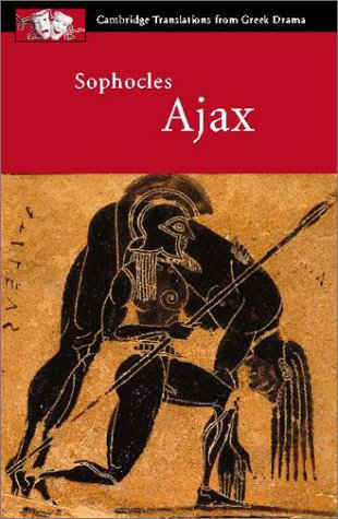 Sophocles Ajax  2000 edition cover