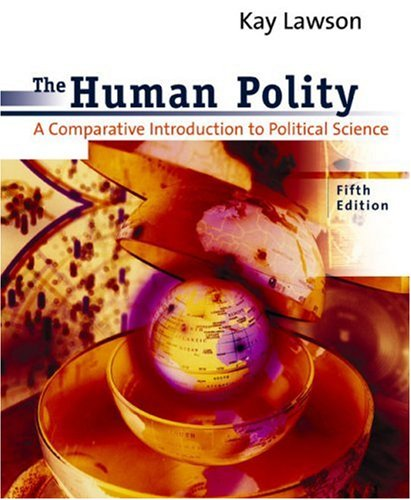 Human Polity A Comparative Introduction to Political Science 5th 2003 edition cover
