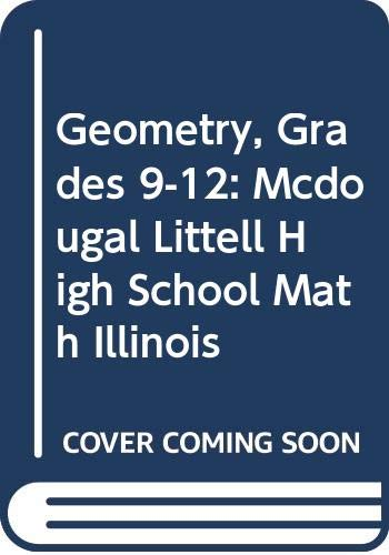 Holt Mcdougal Larson Geometry Student Edition Geometry 2008  2007 9780618887644 Front Cover