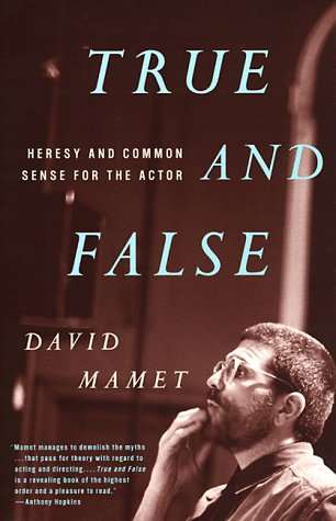 True and False Heresy and Common Sense for the Actor  1999 edition cover