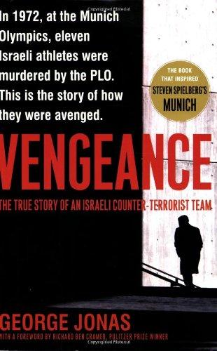 Vengeance The True Story of an Israeli Counter-Terrorist Team  2005 edition cover