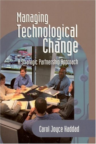 Managing Technological Change A Strategic Partnership Approach  2002 edition cover