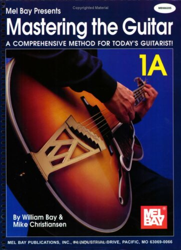 Mastering the Guitar Book 1A - Spiral  N/A edition cover
