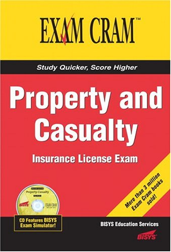Property and Casualty Insurance License Exam Cram   2005 edition cover