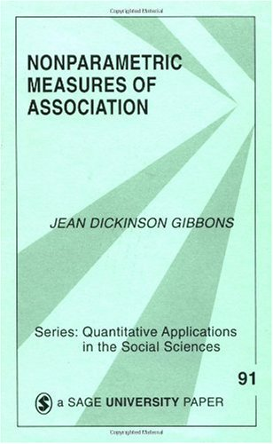 Nonparametric Measures of Association   1993 edition cover