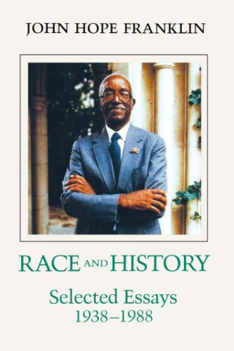 Race and History Selected Essays, 1938-1988  1989 9780807117644 Front Cover